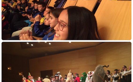 Visita al Auditorio