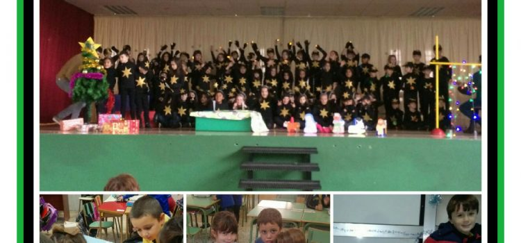 Proyecto Christmas Singers. 2º Primaria.