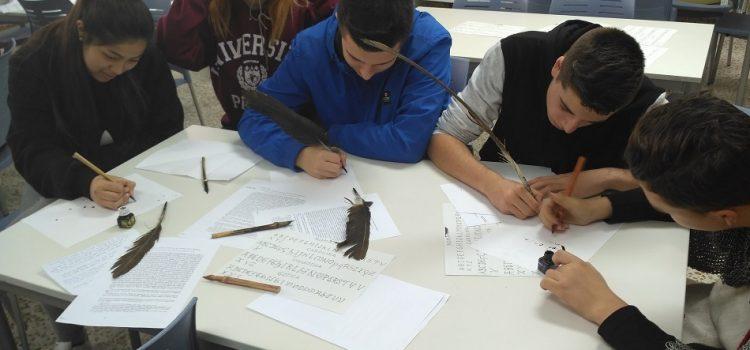Taller de escritura latina en 4º ESO