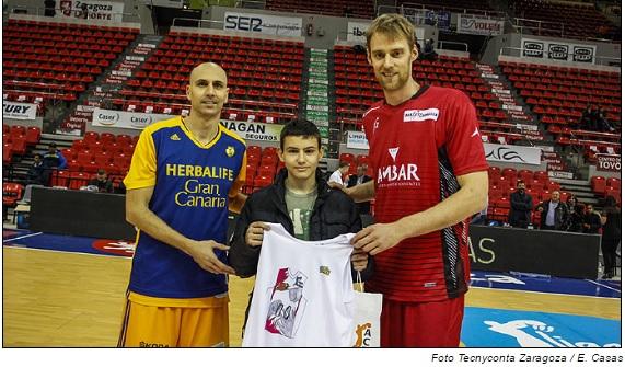 Fernando Lahoz Bernad 4º ESO, ganador del concurso de diseño de la camiseta ACB Next 2016-17