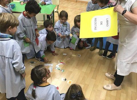 Proyecto Masterchef en Infantil