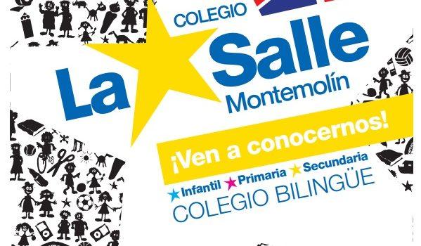 La Salle Montemolín seguirá ofertando tres aulas para 1º de infantil en el proceso de escolarización.