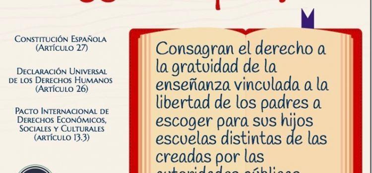 Renovación de conciertos. Nota de prensa de Escuelas Católicas.