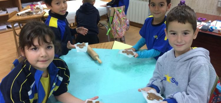 """The story of gingerbreadman"" en 1º de Primaria"