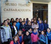 4º de Primaria en el Teatro Romano