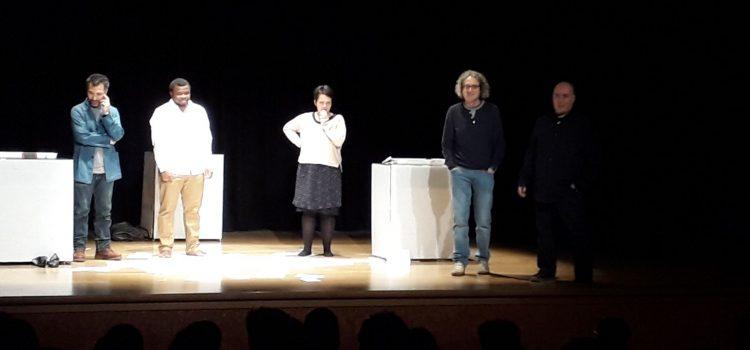 Teatro por la inmigración. Tercero de ESO.