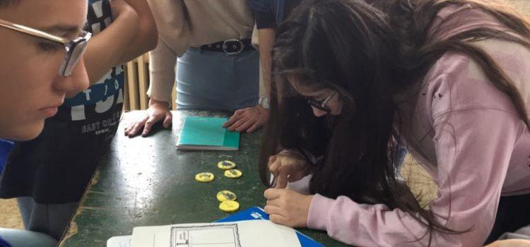 Los alumnos de 2º curso de ESO del Proyecto SEIN se acercan a la invención de la imprenta y a la difusión del conocimiento en la época del Humanismo.