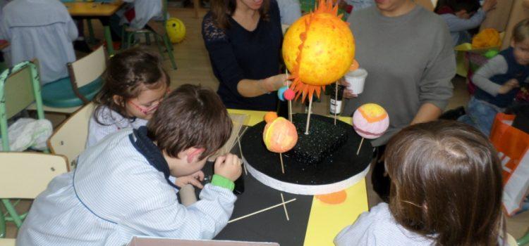 Fin del proyecto dedicado al espacio en Infantil