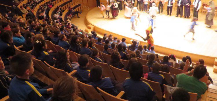 3º de Primaria visita el Auditorio de Zaragoza.