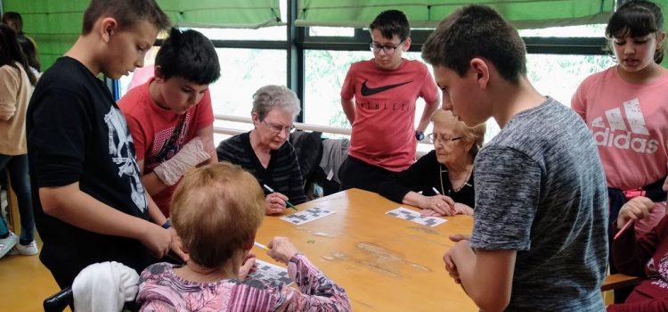 6º de Primaria visita la Residencia Las Fuentes