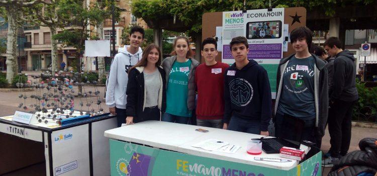 Feria Sein en Beasain para alumnos de segundo ciclo de ESO.