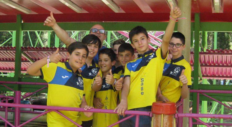 La Agrupación Deportiva LSM en el Parque de Atracciones