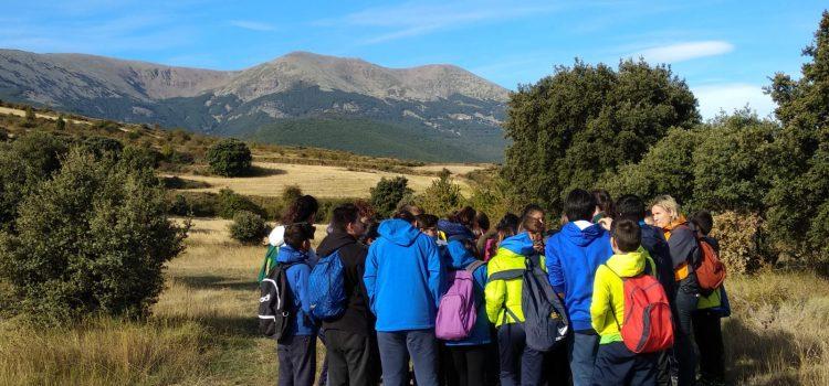 Secundaria. Salidas a espacios naturales de Aragón.