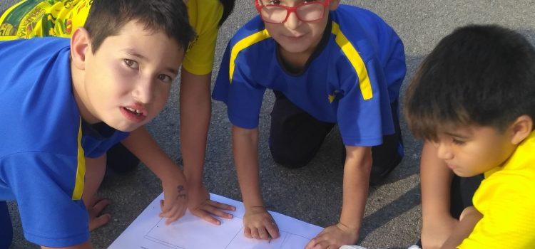 2º de Primaria: Matemáticas en el patio