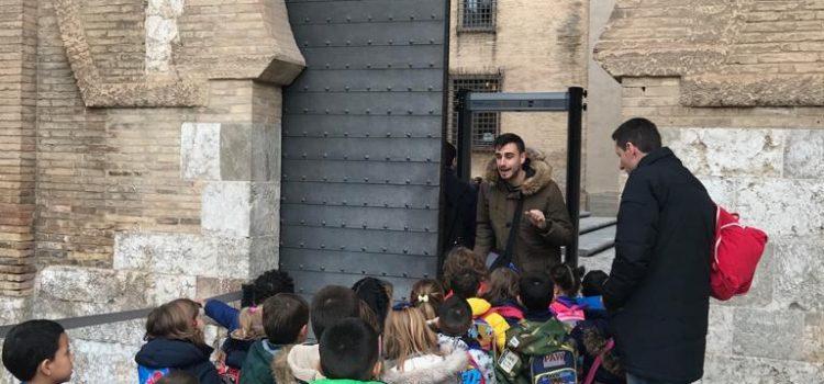 2º de Infantil en el Palacio de la Aljafería