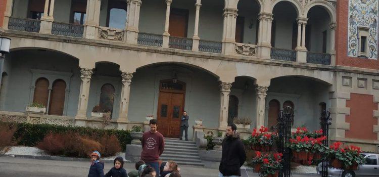1º de Infantil en el Palacio de Larrinaga