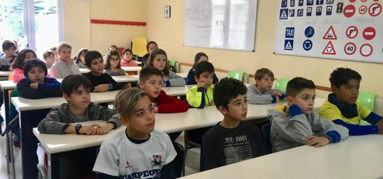 Educación vial en 5º