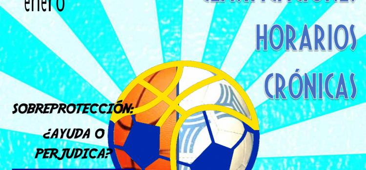 Somos deporte: Revista Nº7-Enero 2019