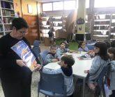 Infantil visita la biblioteca