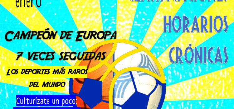 Somos deporte: Revista Nº8-Enero 2019