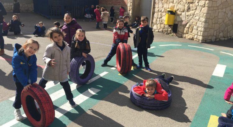Un recreo diferente en Infantil