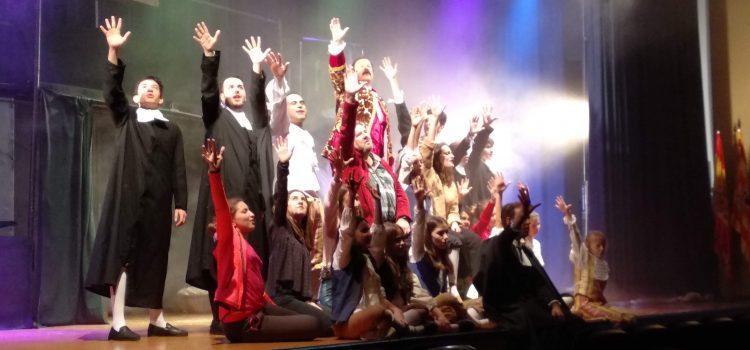 """Los alumnos de LSM en el musical """"Estrellas"""""""