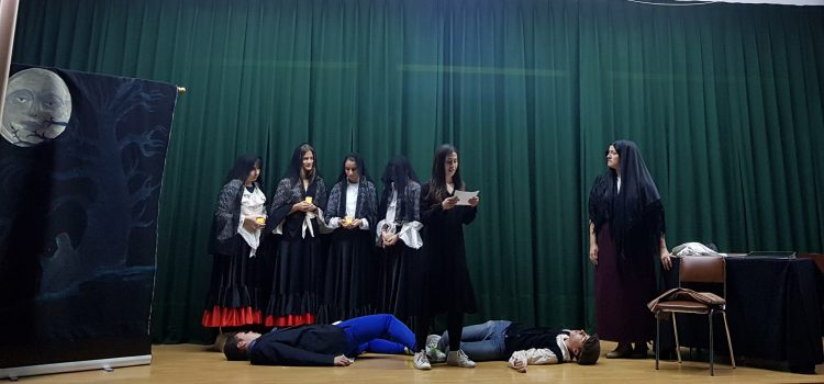 Bodas de sangre: teatro en 4º Secundaria.