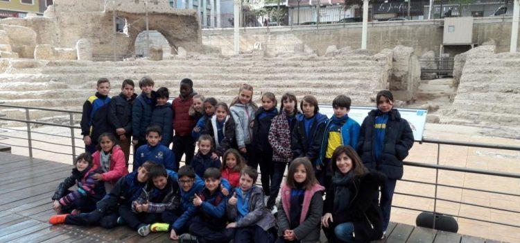 Los alumnos de 4º visitan el Teatro Romano