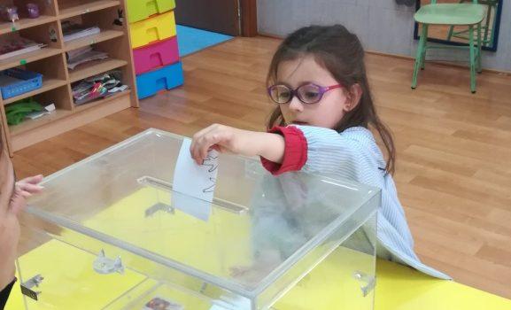 Elecciones en tercero de Infantil