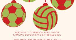 La Navidad se celebra en el deporte escolar